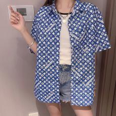 Louis Vuitton ルイヴィトン supreme メンズ/レディース カップル 半袖 シャツ おすすめ 人気格安コピー口コミ