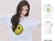 ブランド国内ロエベ LOEWE メンズ/レディース 2色 クルーネック Tシャツ 綿 カップル 2020年新作レプリカ販売