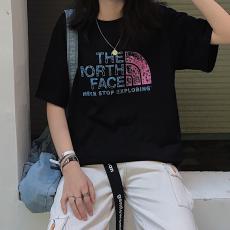 ノースフェイス THE NORTH FACE メンズ/レディース カップル 2色 クルーネック Tシャツ 綿 美品スーパーコピー専門店