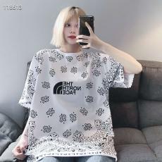 ブランド安全ノースフェイス THE NORTH FACE メンズ/レディース カップル 2色 クルーネック Tシャツ 綿 人気ブランドコピー激安国内発送販売専門店