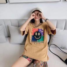 バレンシアガ BALENCIAGA メンズ/レディース クルーネック Tシャツ 綿 新作ブランドコピー激安安全後払い販売専門店