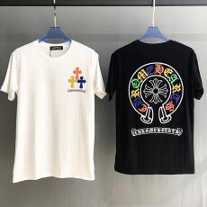 クロムハーツ Chrome Hearts カップル クルーネック 2色 Tシャツ 綿 2020年春夏新作スーパーコピー激安販売
