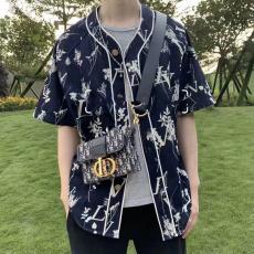 ルイヴィトン LOUIS VUITTON メンズ/レディース カップル 半袖 デニム シャツ 新品同様コピー代引き国内発送安全後払い