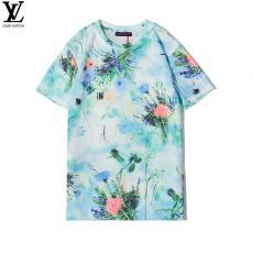 ブランド販売ルイヴィトン LOUIS VUITTON メンズ/レディース クルーネック Tシャツ 綿 定番人気コピー代引き安全口コミ後払い