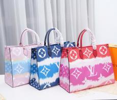 ルイヴィトン LOUIS VUITTON ボストンバッグ ショルダーバッグ  ショッピング袋 トートバッグ 3色 新品同様  M44569/M44570/M44571/M45119/M45120/M4