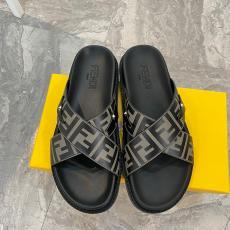 ブランド販売フェンディ FENDI メンズ 2色 サンダル スリッパ 高評価スーパーコピー激安靴販売