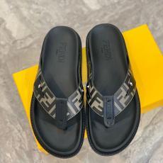ブランド安全フェンディ FENDI メンズ 2色 スリッパ サンダル 定番人気ブランドコピー代引き靴