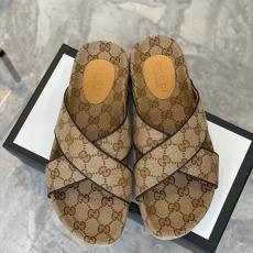 ブランド国内グッチ GUCCI 2色 良品 サンダルブランドコピー靴専門店