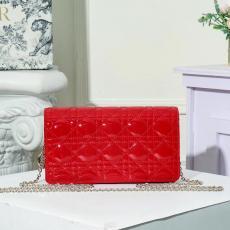 ディオール Dior レディース ショルダーバッグ 斜めがけ 6色 チェーン  スリーピーススーツ 新作ブランドコピーバッグ激安販売専門店