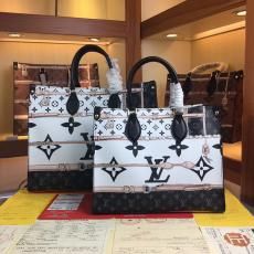 ルイヴィトン LOUIS VUITTON トートバッグ ショルダーバッグ  ショッピング袋 2色 大小オプション エンボス おすすめコピー 販売口コミ