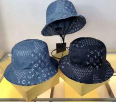 ブランド可能ルイヴィトン LOUIS VUITTON メンズ/レディース カップル デニム 2色 漁夫帽 キャップ 人気激安代引き
