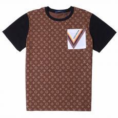 ルイヴィトン LOUIS VUITTON メンズ/レディース カップル クルーネック Tシャツ 綿 2020年新作激安代引き口コミ