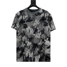 ルイヴィトン LOUIS VUITTON メンズ/レディース クルーネック Tシャツ 綿 人気コピー 販売