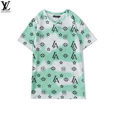ルイヴィトン LOUIS VUITTON メンズ/レディース カップル 2色 クルーネック 綿 Tシャツ 新品同様スーパーコピーブランド激安安全後払い販売専門店