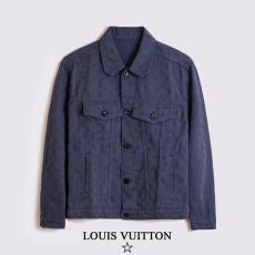 ルイヴィトン LOUIS VUITTON メンズ/レディース カップル 5色  おすすめ 定番人気  デニム アウターブルゾンコピー 販売口コミ
