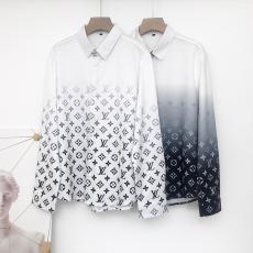 ルイヴィトン LOUIS VUITTON メンズ/レディース 2色 長袖 シャツ 高評価スーパーコピー安全後払い
