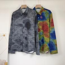 ブランド販売ルイヴィトン LOUIS VUITTON メンズ/レディース 長袖 シャツ 2色 人気 2020年新作コピー代引き安全口コミ後払い