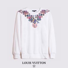 ルイヴィトン LOUIS VUITTON メンズ/レディース カップル 2色 クルーネック スウェット 定番人気コピー 販売口コミ