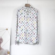 ルイヴィトン LOUIS VUITTON メンズ/レディース カップル 長袖 シャツ 良品コピー 販売