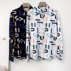 ブランド通販ルイヴィトン LOUIS VUITTON メンズ/レディース カップル 2色 長袖 シャツ 美品レプリカ販売