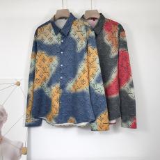 ルイヴィトン LOUIS VUITTON メンズ/レディース 2色 シャツ 長袖 新品同様スーパーコピー激安販売専門店