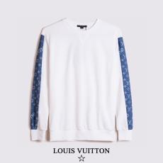 ブランド国内ルイヴィトン LOUIS VUITTON メンズ/レディース カップル 2色 クルーネック スウェット 2020年秋冬 新作ブランド通販