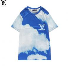 ルイヴィトン LOUIS VUITTON メンズ/レディース クルーネック Tシャツ 綿 カップル 2020年新作スーパーコピーブランド
