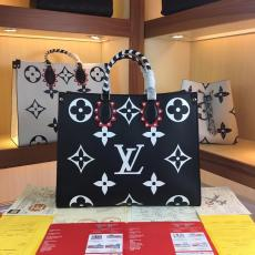 ルイヴィトン LOUIS VUITTON トートバッグ ショルダーバッグ ショッピング袋 3色 新作M45373 人気スーパーコピーブランドバッグ激安国内発送販売専門店