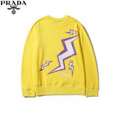 プラダ PRADA メンズ/レディース カップル 3色 クルーネック  スウェット 良品口コミ激安代引き