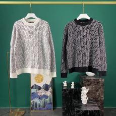 フェンディ FENDI メンズ/レディース 2色 カップル クルーネック セーター 2020年秋冬 新作口コミ激安代引き