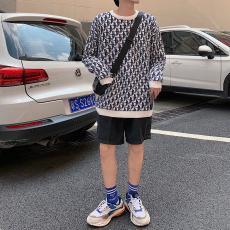 ディオール Dior メンズ/レディース カップル クルーネック セーター モノグラム 新品同様偽物販売口コミ