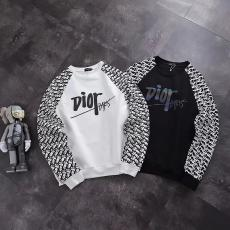 ブランド安全ディオール Dior メンズ/レディース カップル 2色 クルーネック スウェット 秋冬 新作スーパーコピー激安販売