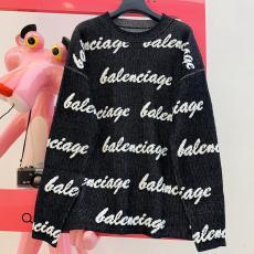 ブランド販売バレンシアガ BALENCIAGA メンズ/レディース 2色 クルーネック セーター 新品同様コピー 販売口コミ