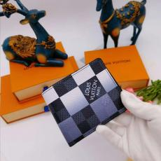3色 ルイヴィトン LOUIS VUITTON  二つ折財布 人気 おすすめ N40414 ダミエコピー財布 販売