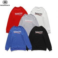 ブランド国内バレンシアガ BALENCIAGA バケットバッグ メンズ/レディース カップル 5色 クルーネック スウェット 綿 人気コピー最高品質激安販売