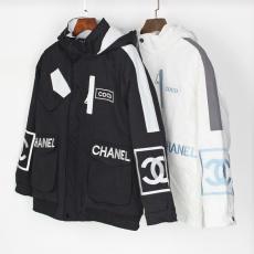 ブランド安全シャネル CHANEL メンズ/レディース 2色 カップル コットンコート アウターブルゾン 新作 暖コピー 販売