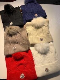 ブランド可能モンクレール MONCLER メンズ/レディース カップル 毛糸 キャップ マフラー 冬物 冬 暖かい おすすめ セット 6色最高品質コピー