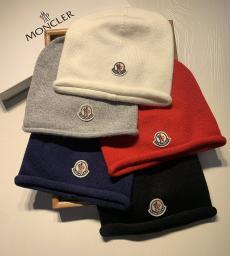 ブランド後払いモンクレール MONCLER メンズ/レディース カップル 冬物 冬 暖かい 5色 ニット 毛糸の帽子 ビーニー  おすすめ偽物代引き対応