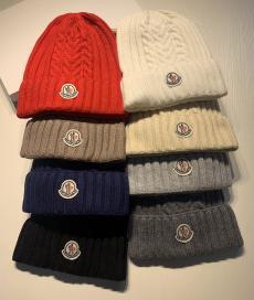 モンクレール MONCLER メンズ/レディース カップル マルチカラーが選択可能 毛糸 ニット帽 ビーニー  冬物 冬 暖かい 人気コピー口コミ
