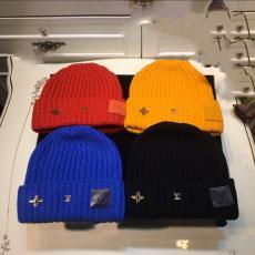 ルイヴィトン LOUIS VUITTON メンズ/レディース カップル 暖 秋冬 ファッション 新作 4色 毛糸 ニット帽 ビーニーレプリカ 代引き