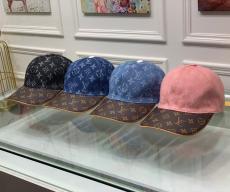 ルイヴィトン LOUIS VUITTON メンズ/レディース カップル キャスケット帽  4色 モノグラム スプライシング 細心の注意を払った技量 良品ブランドコピー代引き