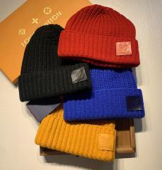 ルイヴィトン LOUIS VUITTON メンズ/レディース 4色  良品 カップル 秋冬 暖 毛糸 ニット帽コピー代引き国内発送安全後払い