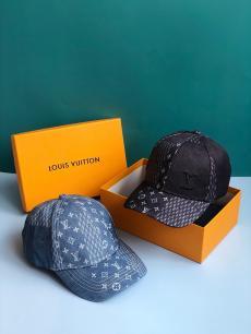 ルイヴィトン LOUIS VUITTON メンズ/レディース カップル 2色 デニム キャスケット帽   人気 おすすめブランドコピー安全後払い