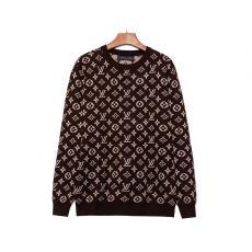 ブランド安全ルイヴィトン LOUIS VUITTON メンズ/レディース カップル 2色 クルーネック  セーター 人気 おすすめ 暖レプリカ販売
