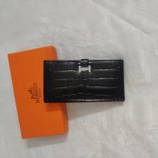 エルメス  HERMES 二つ折財布 クロコ型押し 人気本当に届くブランドコピー国内発送後払い店