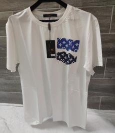 クルーネック Tシャツ 新生活に すぐ届く! 《希少お早めに》 大人気★即完売必至 カップル ルイヴィトン LOUIS VUITTON メンズ/レディースコピー代引き国内発送