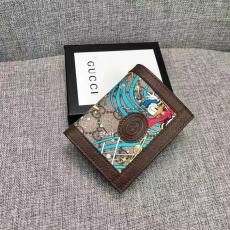 新作入手困難 大判新作を先取り グッチ 二つ折財布 GUCCI コインケース カードポケット 人気 おすすめ 648121ブランド財布通販
