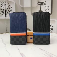 長財布 新作・重宝 LOUIS VUITTON すぐにお届け ルイヴィトン 2色 M56829Pochette Voyageハンドバッグは、クラシックなエピレザーとダミエグラファイトキャンバスでできており、ルイヴィトンのロゴで装飾されたストライプで巧みに接続されています 大人気コピーブランド代引き工