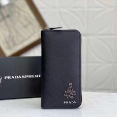 ファスナー 長財布 メンズ プラダ 2色 人気の長財布 他の人と差を PRADA 良品 1ML506本当に届くブランドコピー工場直営国内安全後払いサイト