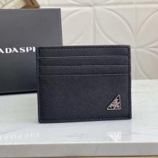 メンズ PRADA カードポケット クロスパターンウォレット 2MC223 プラダ 黒色 2色コピーブランド激安販売工場直営専門店